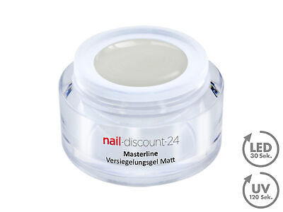 Premium Masterline Versiegelungs Gel Seiden MATT LOOK UV LED 5ml Finish Nagel
