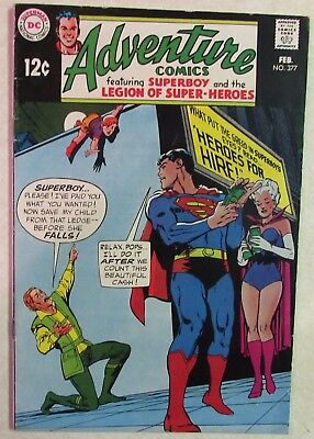 DC Comics - Adventure Comics - #377 - Silver Age -1960s - Superboy - Under Guide