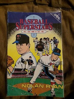 Baseball Superstars Comics #1 (Nov 1992) Nolan Ryan