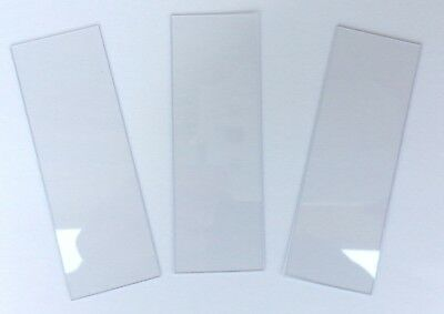 Plastic Microscope Slides 1 x 3 Inch - Pack of 144