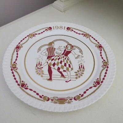 Collectable spode Christmas plate 1981