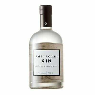 Antipodes Gin Certified Organic Carbon neutral Gin Infused Native Aus Botanics