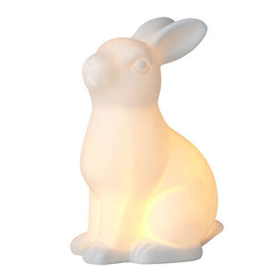 Loppy the Rabbit LED Night Light Stylish Décor Homeware Ornament Kids Gift