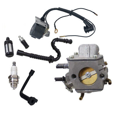 For STIHL CHAINSAW 029 039 MS290 MS310 MS390 IGNITION COIL CARBURETOR TUNE KIT