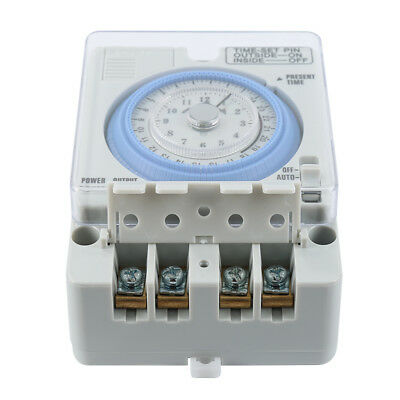 TB-388 Mechanical 24 Hour Timer Time Switch AC220V 10A 15 minutes / 96 times