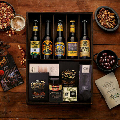The Hamper Emporium – MicroBreweries of Australia Hamper Keepsake Gift Box Bee