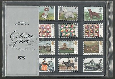 1979 Royal Mail Collectors Year Pack. Complete with all stamps.