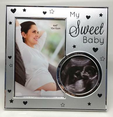 My Sweet Baby Ultrasound Pregnancy Photo Frame - Holds 2 photos
