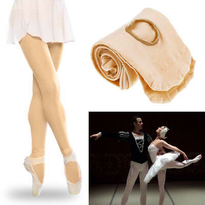 Girls Ladies Ballet Dance Foot Tights Convertible Transition Dancewear Tights
