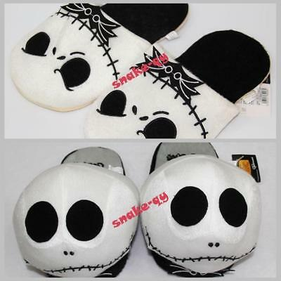 The Nightmare Before Christmas Jack Skellington Soft Adults Plush Warm Slippers
