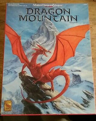 USED (GD) Dragon Mountain (AD&D 2nd Ed. Fantasy Roleplaying) by Colin McComb