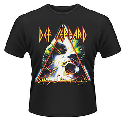 Def Leppard Hysteria Black T-shirt Official Licensed Music