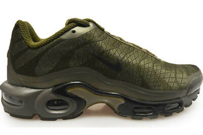 NIKE AIR MAX TN PLUS TXT TUNED 1 TRAINERS EXCLUSIVE OLIVE GREEN BLACk 845006200
