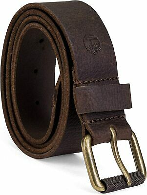 Timberland Mens Milled Pull Genuine Leather Belt