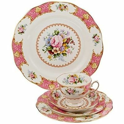 Royal Albert Lady Carlyle 5-Piece Place Setting, Service for 1 NEW IN THE BOX
