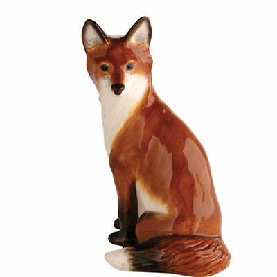 John Beswick Country Animals Figure FOX SITTING JBW14 - New & Boxed