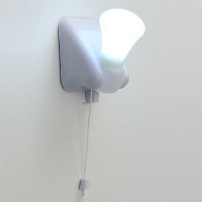 Portable Wire LED Bulb Cabinet Lamp Night Light Battery Operated Self Adhesive