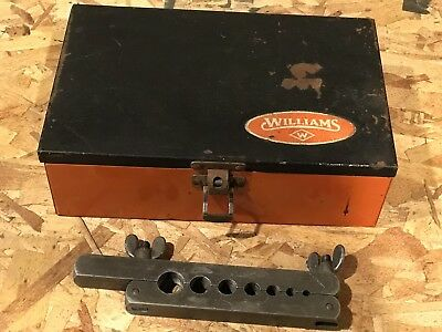 Vintage Williams Flaring Tool No 162 With Box No 165 Made In USA