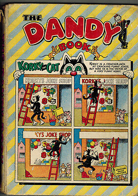 THE DANDY BOOK 1956 vintage comic annual