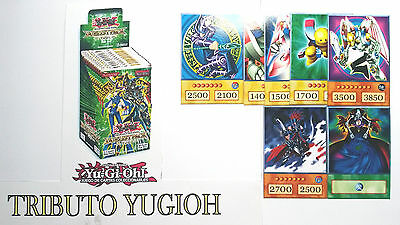 Yu-Gi-Oh! Custom Anime Orica - YUGIOH DECK TRIBUTE COMPLETE - 63 CARDS  FOR KIDS
