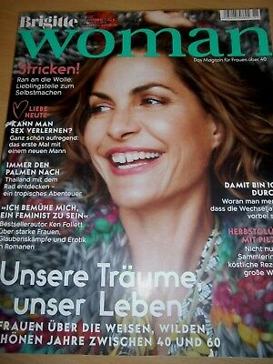 BRIGITTE WOMAN - Frauenmagazin 11/17 - November 2017- Träume