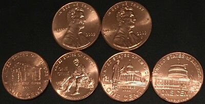 2009 P&d Lincoln Bicentennial Cents/(5)  8 Coin Sets/  (40) Coins/ Fast Shipping