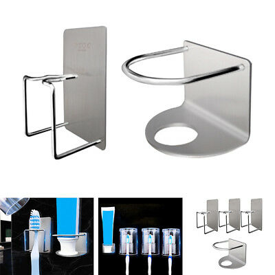 Newly Toothbrush & Toothpaste Holder Set Home Wall Mount Dispenser Cup W/Tumbler