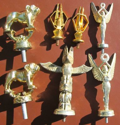 Bulldog Trophy Tops Plus Totem Pole And Other Trophy Toppers