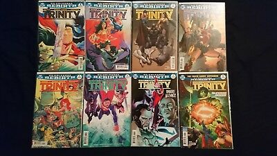 DC Comics - Trinity #1-8 - 1st Print - DC Rebirth Batman/Superman