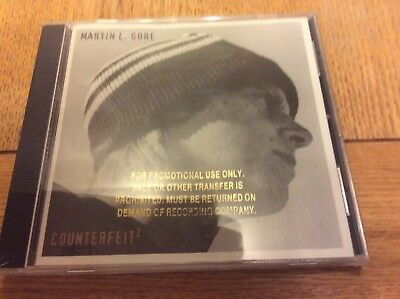 Martin L Gore Depeche Mode Counterfeit 2 USA gold stamped promo mint sealed rare