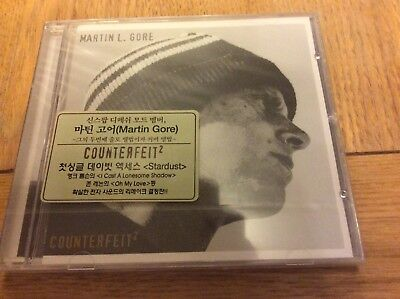 Martin L Gore Depeche Mode Counterfeit 2 Korean CD sealed mega rare