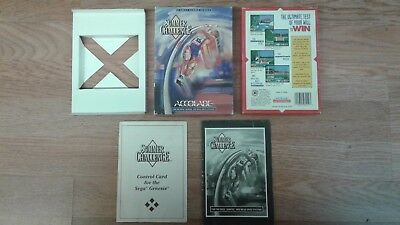 Summer Challenge (Sega Genesis / Mega Drive) - Box, Manual And Inserts Only