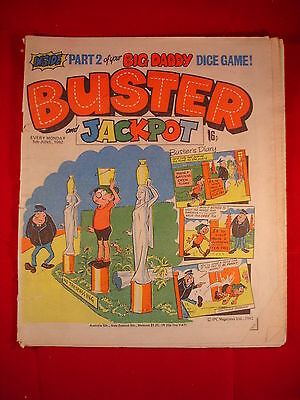 The Buster Comic - 5th June 1982