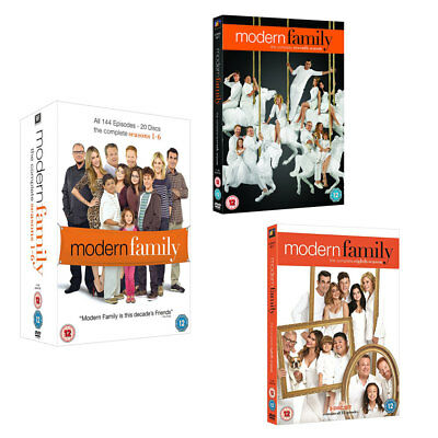 MODERN FAMILY Series Seasons 1, 2, 3, 4, 5, 6, 7 & 8 DVD Box Set 1 - 8 R4