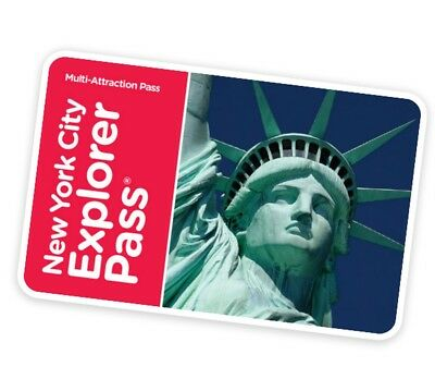 NEW YORK CITY EXPLORER PASS, 2-7? Attraktionen von 60, bis 55% SPAREN! VK 47,67€