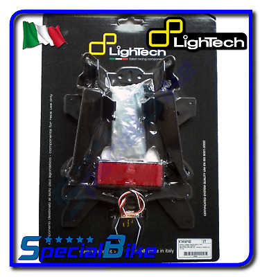 Triumph Daytona 675 / R 2007 > 2012 Kit Support De Plaque Lightech