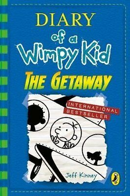 Diary of a Wimpy Kid: The Getaway (book 12) by Jeff Kinney New Hardcover Book