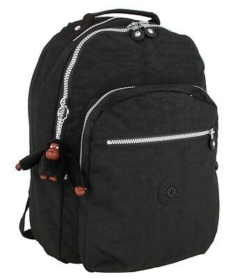 Kipling Clas Seoul Large Backpack BLACK Authentic Genuine NWT -  USA Ship