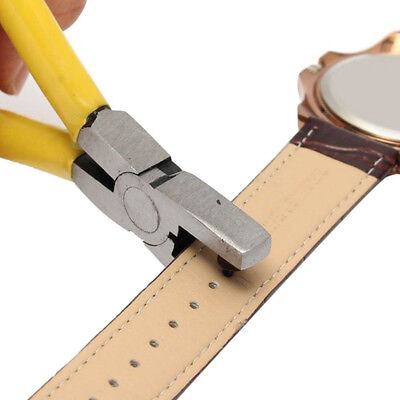 2mm Leather Hole Punch Hand Pliers for Strap Belt Watch Band Craft Tools