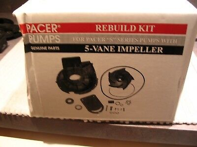 NEW Pacer P-58-702EP-U Rebuild Kit For  Water Pumps 5-VANE