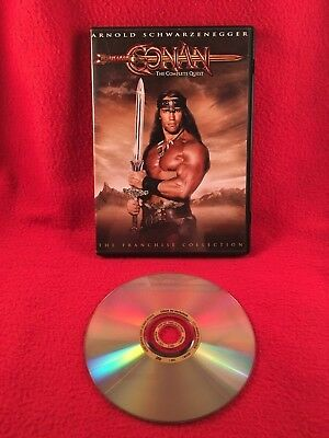 Conan The Barbarian Destroyer Complete Quest DVD Arnold Schwarzenegger Working