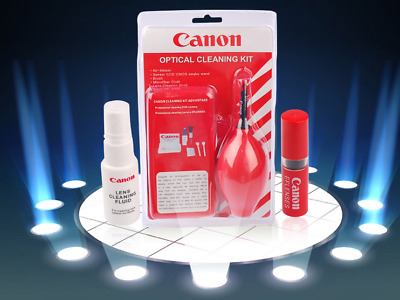 Canon Optical Cleaning Kit - Portable Camera Screen Lens Sensor Cleaner Tool Set
