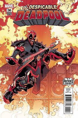 Despicable Deadpool 290 R B Silva Phoenix Resurrection Variant Nm