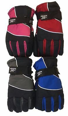 WHOLESALE LOT 12 PCS Outdoor Sports Ski Thermal Insulation waterproof Kid Gloves