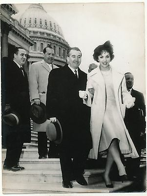 Gina Lollobrigida in Washington USA - 1958