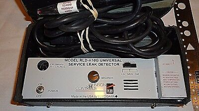 Working Johnson Controls RLD-H10G Refrigerant HVAC Service Leak Detector Case