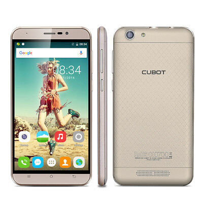 5.5'' HD CUBOT Dinosaur 3+16GB CELLULARE 4G Android Quad Core 2SIM Smartphone IT