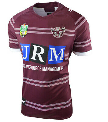 Manly Sea Eagles NRL 2018 Home ISC Jersey Adults Sizes S-7XL! In Stock