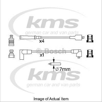 New Genuine BOSCH Ignition Lead Cable Kit 0986356866 Top German Quality