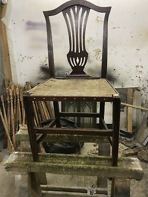 Ash Frame Dining Chair - originally rush seated